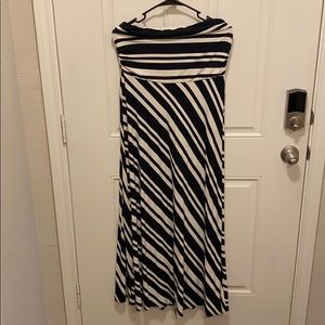 Banana Republic   PL Strapless  Maxi Dress